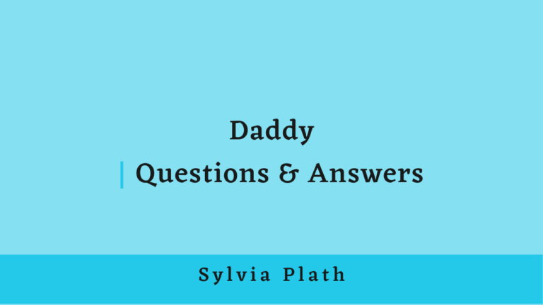 Daddy | Questions & Answers