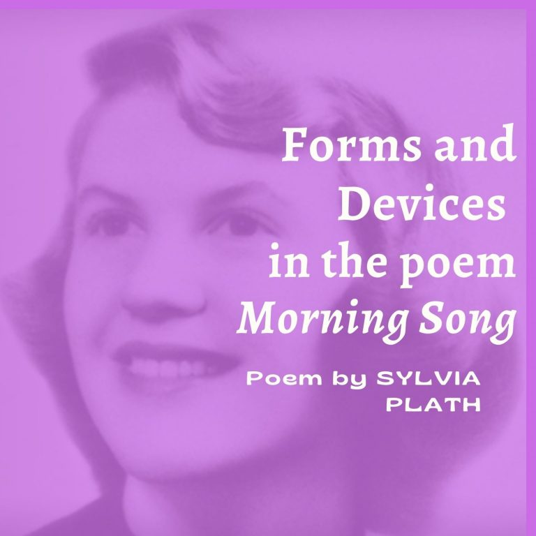 Morning Song: Forms and Devices