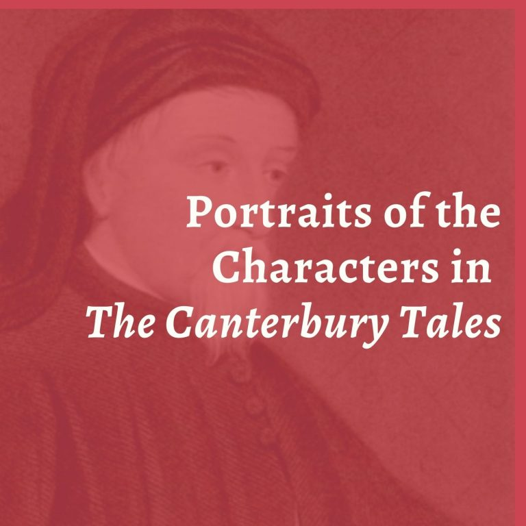 Portraits of the Characters in The Canterbury Tales