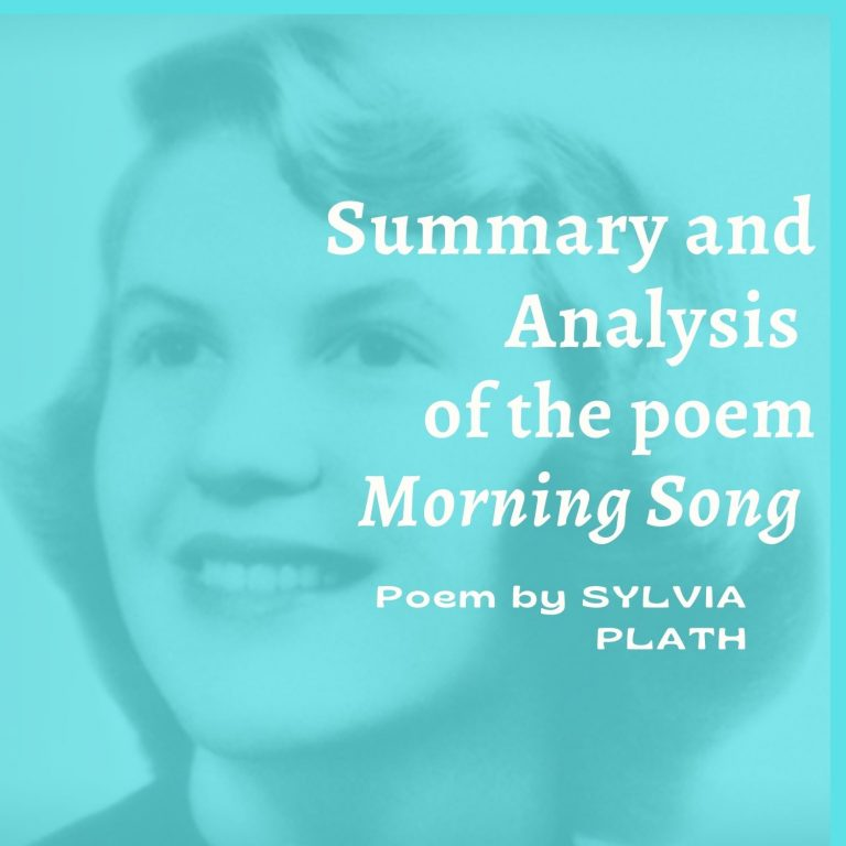 Morning Song: Summary and Analysis