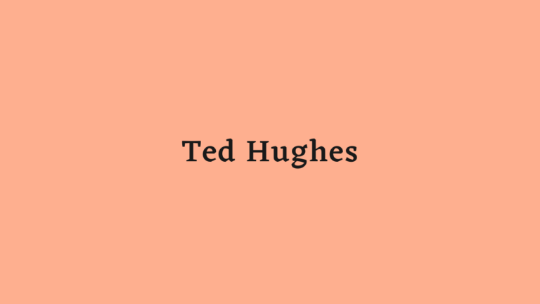 Ted Hughes | Biography