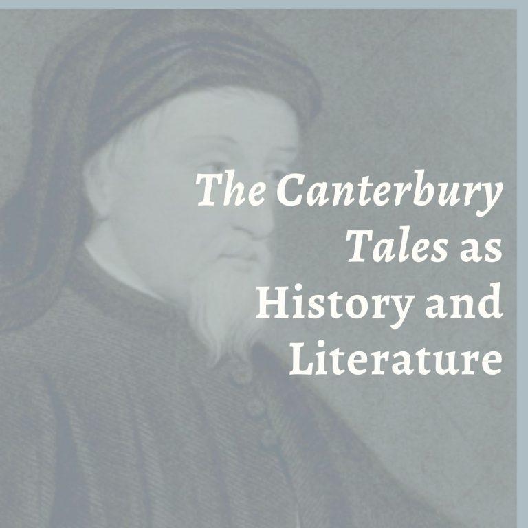 """""""General Prologue to The Canterbury Tales"""" as History and Literature"""