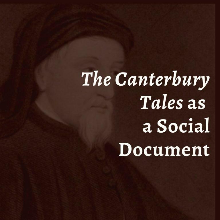 The Canterbury Tales as a Social Document