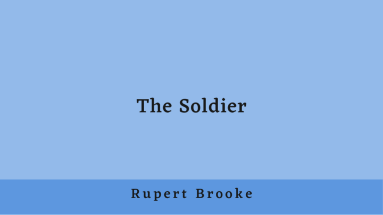 The Soldier | Introduction