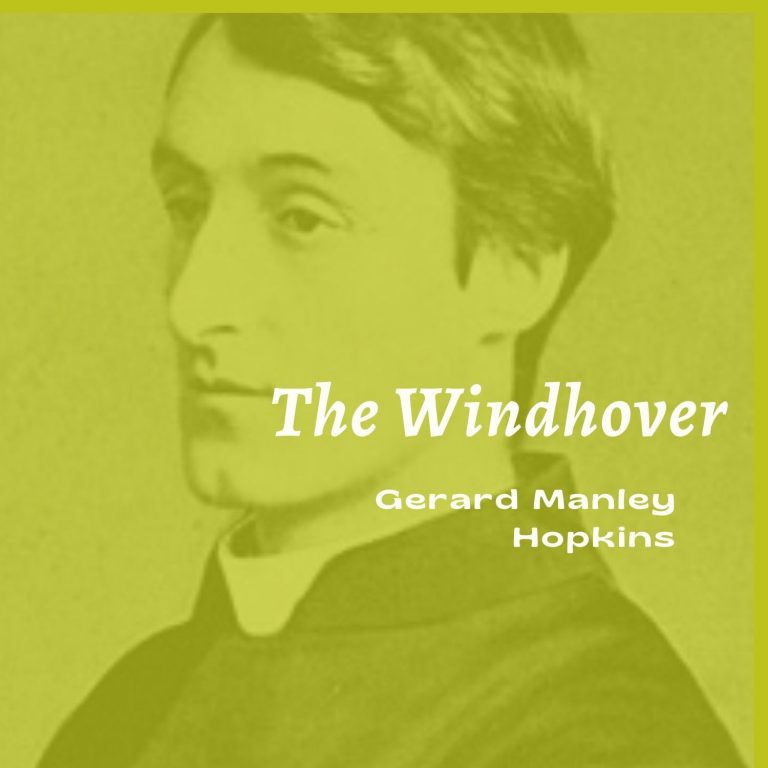 """""""The Windhover"""" Stylistic Analysis"""