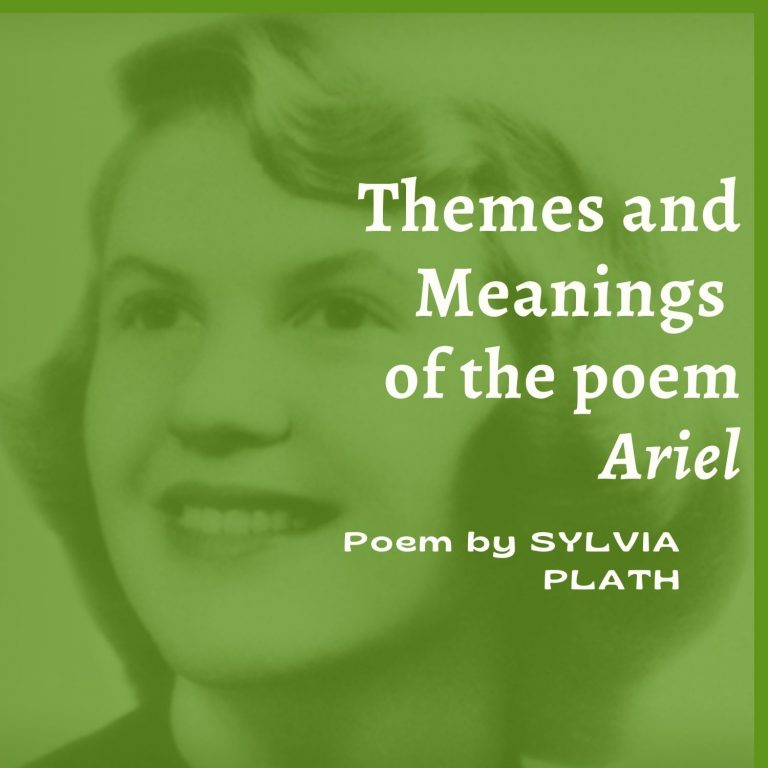 Ariel: Themes and Meanings